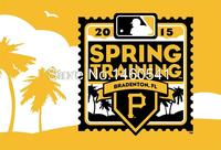 2015 Spring Training Flag 3ft X 5ft Polyester MLB Pittsburgh Pirates Banner Flying Size No 4