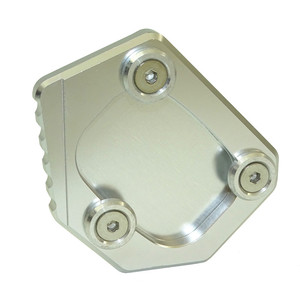 Image 3 - waase For Honda XLV 600 650 700 TRANSALP / DOMINATOR NX 650 / FMX 650 Kickstand Foot Side Stand Extension Pad Support Plate