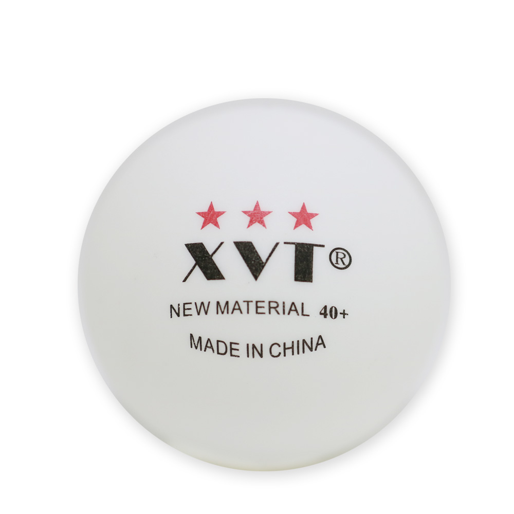 Original XVT 3 Star NEW Material PP Seamed 40+ Ping Pong Ball Table Tennis  Ball