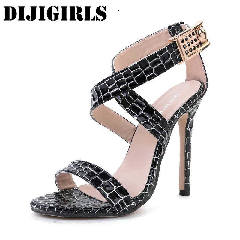 Women Rome Sandals Serpentine Cross-Strap High Heels Shoes Woman Sexy Party Wedding Pumps Fashion Open Toe Thin Heels Sandals rome new sexy high heels wedding shoes woman 2017 brand cross tied women luxury retro square toe gladiator sandals women boots