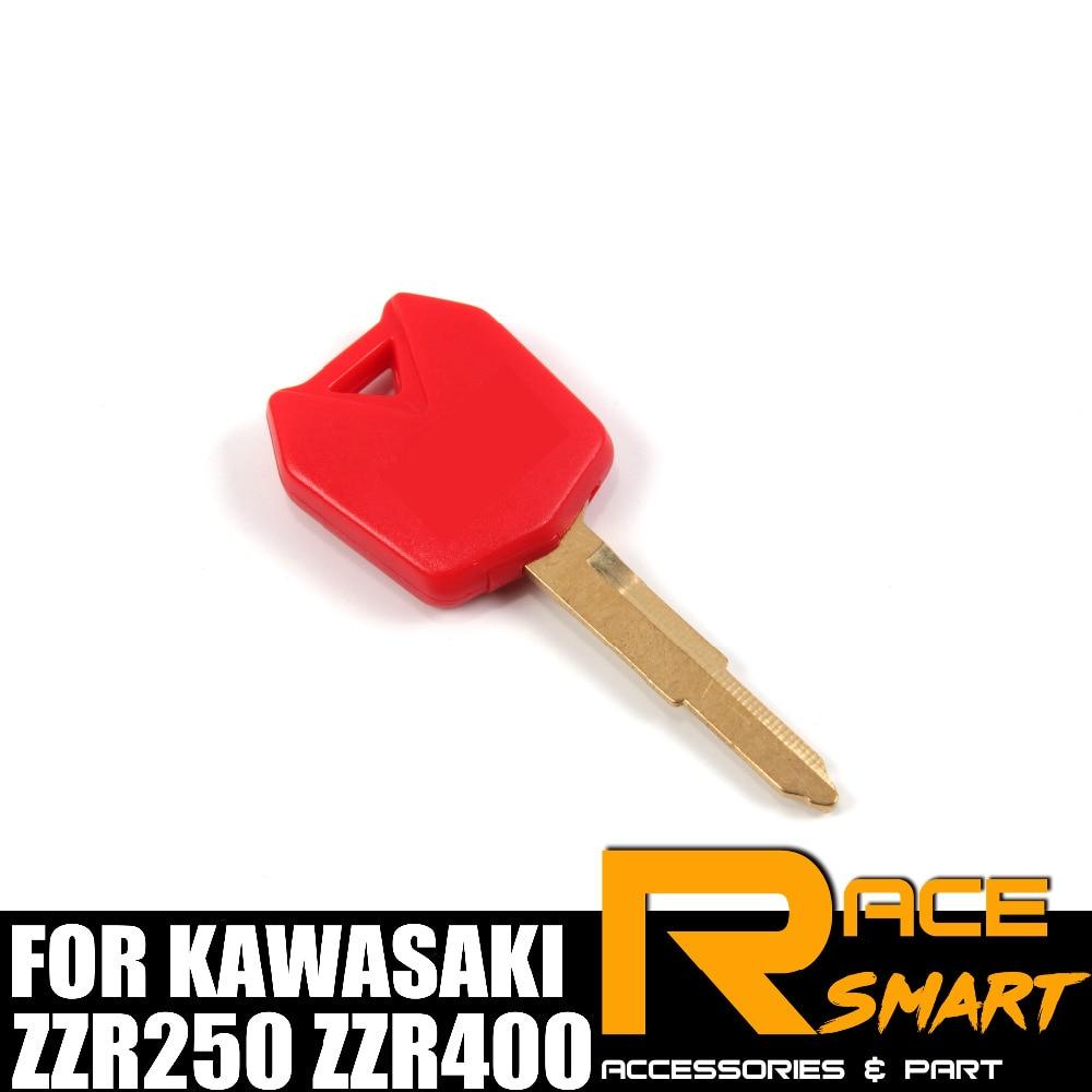 Motorcycle Uncut Blank Key For KAWASAKI ZX-6R ZX 12R ZX 6R ZX-12R Blade Keys NINJA ZX6R ZX10R ZX12R ZXR250 ZZR250 ZZR400