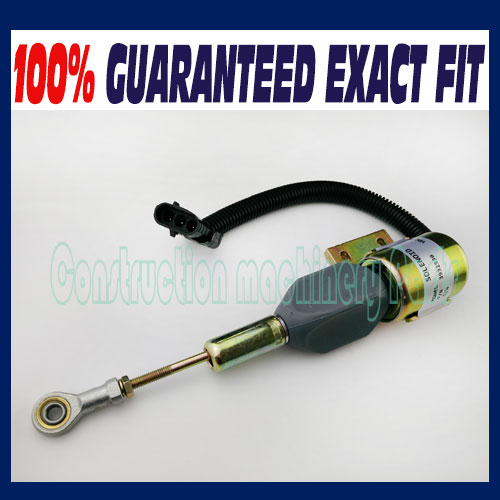 ФОТО New Fuel Shut Off Solenoid for CUMMINS 3930658 3932529 3935431 SA475612 J932529