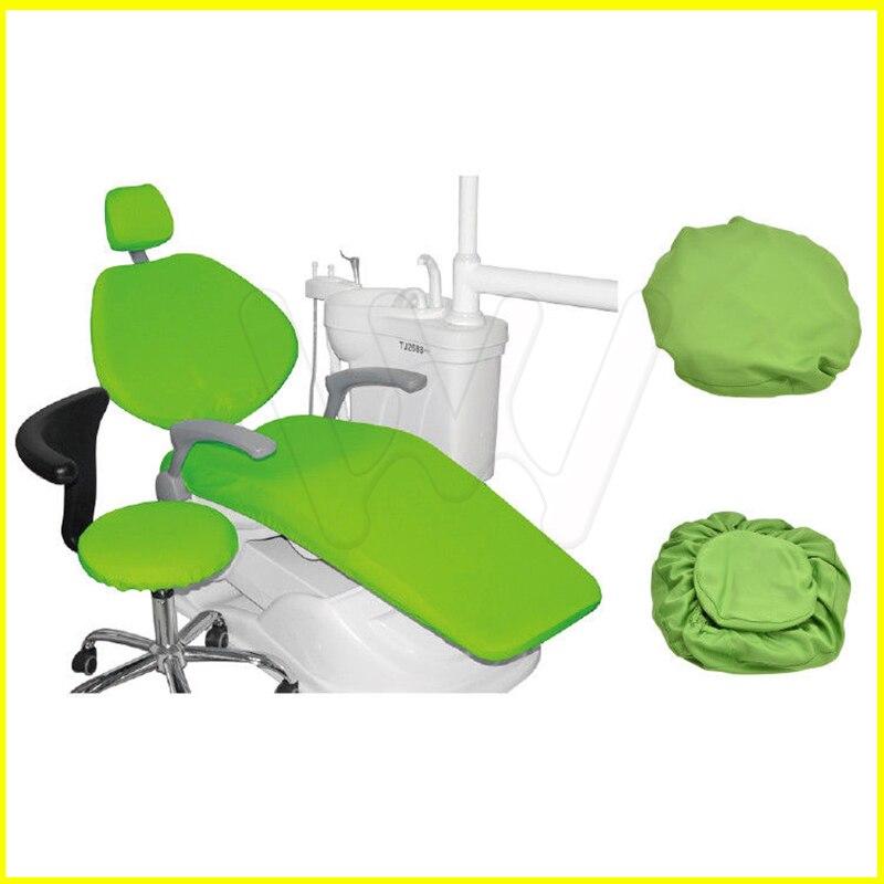 1 conjunto de alta qualidade e alta elastica dental cadeira capa de fezes dentista 4 pcs