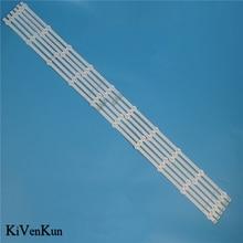 Bande de rétro éclairage LED de lampe HD pour LG 50LA613S 50LA613V 50LA615S 50LA615V 50LA6208S 50LA620V ZA ZB ZG bandes de LED de télévision Kit de barres