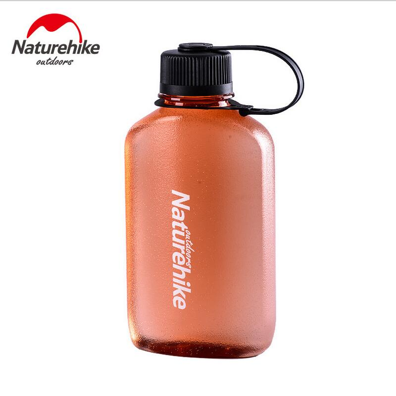 Naturehike Portable Outdoor Travel Sports Riding Kettle Hiking Water Bottle To Drink Straigh Camping Hiking Water Bag NH61A063-B