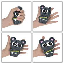 2PCS/Pack Squishy Ninja Panda Animal Squishys Cake Stress Reliever Slime Toys Scented Squeeze Slow Rising Fun Toy(China)