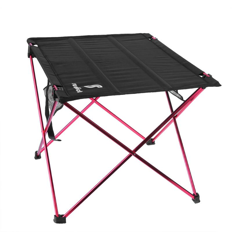 Outdoor Folding Table Aluminum Alloy Portable Folding Table Large Table Desk for Outdoor Camping Barbecue Picnic 57X42X37cm outdoor camping hiking picnic bags portable folding large picnic bag food storage basket handbags lunch box keep warm and cold