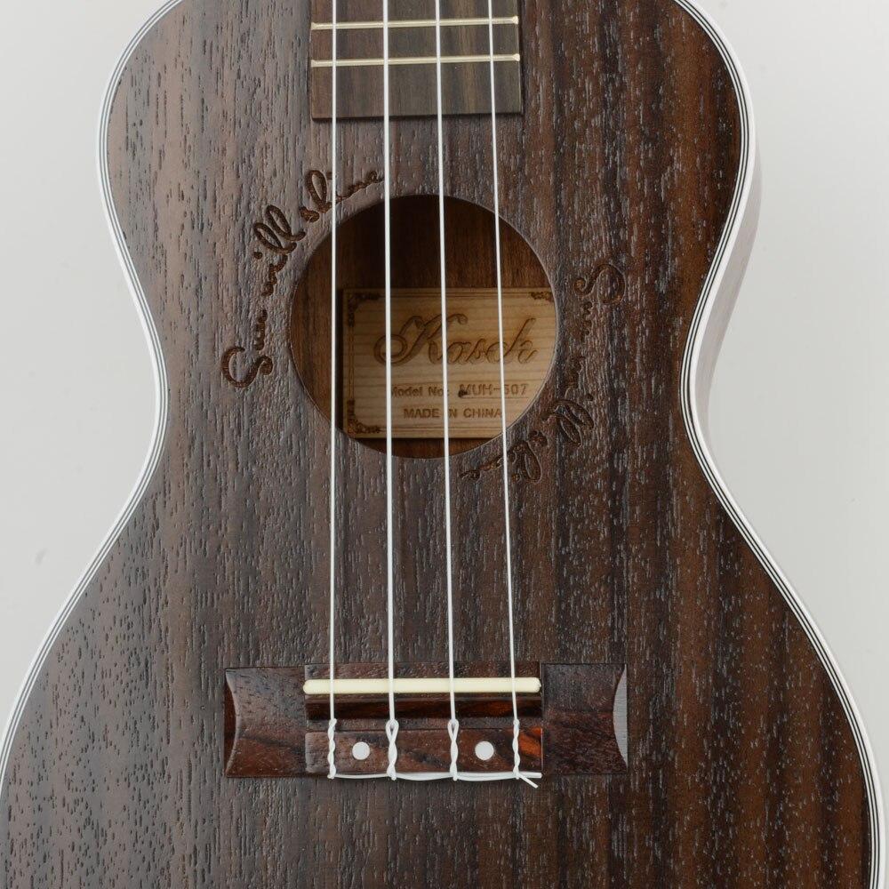 24 дюймов Sapele нейлон 4 струны концертный банджо Уке Гавайские гитары укулеле бас гитары ra для музыкальных струнных инструментов подарок для ... - 6