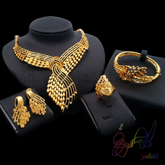 Yulaili 2017 Elegant Dubai Jewelry Setin Jewelry Sets from Jewelry