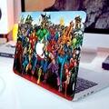 """Супергероев комиксов Семья Полная Крышка Кожи для Ноутбука Наклейки для MacBook Air Pro Retina 11 """"12"""" 13 """"15"""" луффи Ноутбук Этикета"""