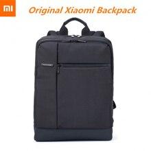 Moda oryginalny Xiaomi Classic Business plecaki o dużej pojemności torba studencka mężczyźni kobiety Travel School Office Laptop Backpack