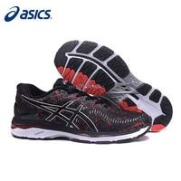 2019 Original ASICS GEL KAYANO Night Running Athletic Men Shoes Unisex 40 45 Size Sport Shoes Men Running Shoes Sneakers Men