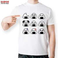Japanese Sushi T Shirt Design Inspired By Smile T Shirt Style Cool Fashion Casual Novelty Funny