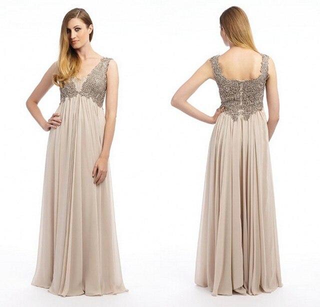 ec093c4f7 2015 Hot Sale barato vestidos noche para mujeres embarazadas partido de la  gasa larga imperio vestido