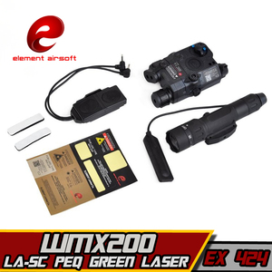 Image 3 - EX424 Element SF LA 5C PEQ UHP Appearance Green laser& WMX200 Flashlight &Double Remote Control Airsoft Flashlight combination