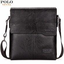 Викуньи поло Для мужчин сумка Классический бренд Для мужчин сумка Винтаж Стиль Повседневное Для мужчин Курьерские сумки Акция сумка мужская Лидер продаж
