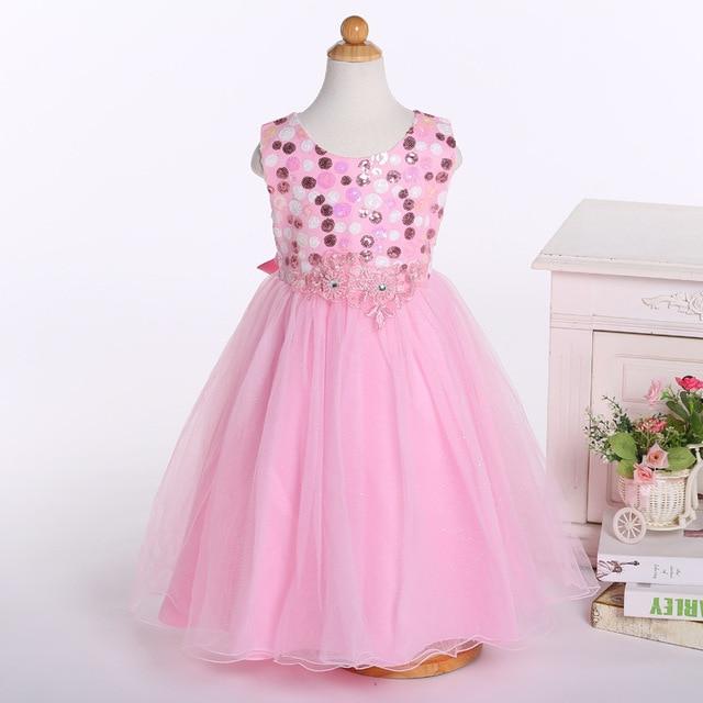 Flor Niñas Vestidos para los vestidos de boda largos niños Vestidos ...