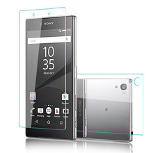2PCS Front+Back 9H Premium Tempered Glass Cover For Sony Xperia Z Z1 Z2 Z3 Z4 Z5