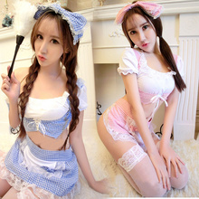 Lovely Girl Sexy Costumes Maid Lolita Princess Outfit Chemises Babydolls Teddies Sexy Lingerie Hot Sexy Underwear Nightgowns