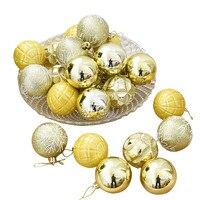 24 قطعة كرات زخارف الحلي شجرة عيد الميلاد زخرفة حزب الزفاف 5 سنتيمتر
