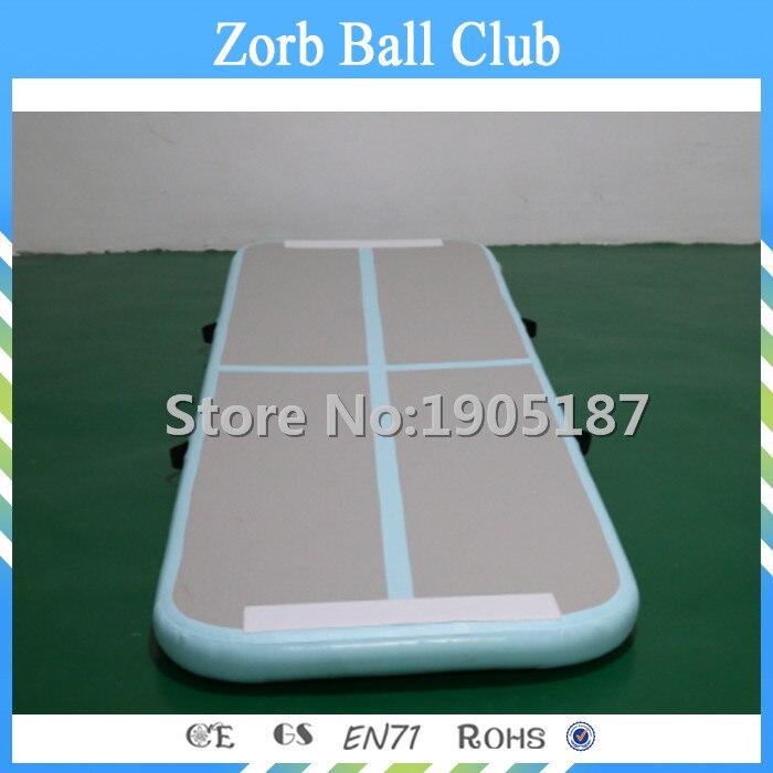 Livraison gratuite 3x0.9x0.1m gonflable Gym piste dégringolade tapis gymnastique Airtrack pour les enfants
