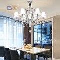 Led e14 железные в стиле постмодерн акриловый кристалл хромированная Светодиодная лампа. Подвесные светильники. Подвесной светильник. Подвес...