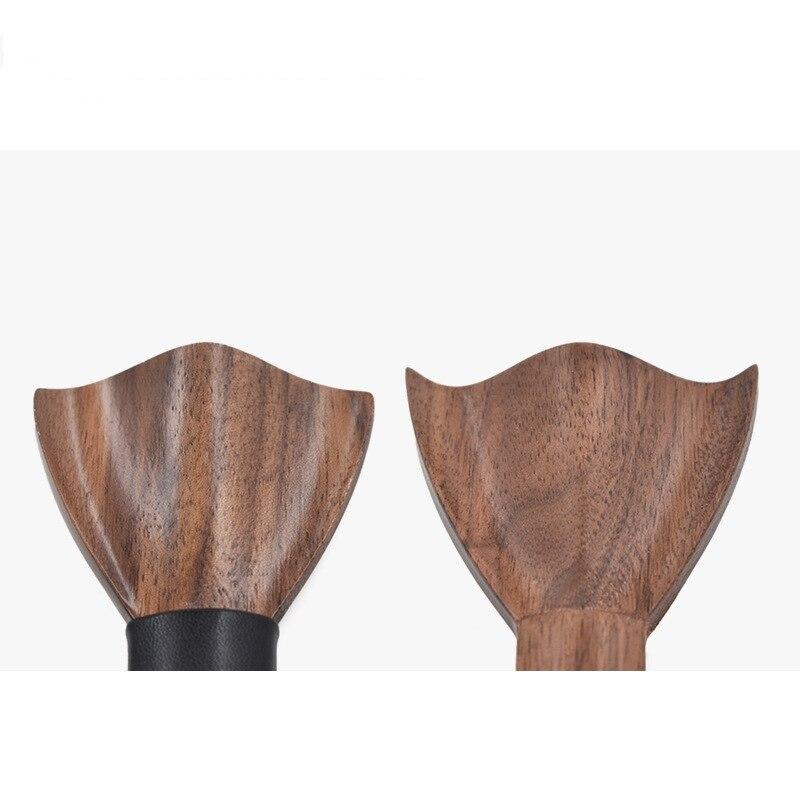 Kreativität Holz Hochzeit Fliege für Gentleman Eine Größe