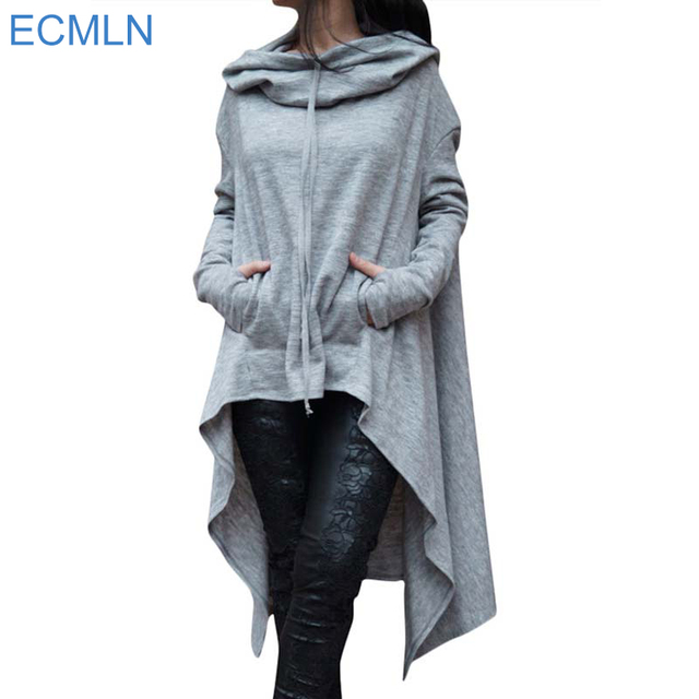 Women Casual Outwear Loose Long Sleeve Pullover Hoodies Sweatshirt
