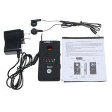 Antispy Camera bug RF Detector GEEAIR Wireless Bug Detector Hidden-Camera Lens Detector Radio Wave Signal Detect Full range GSM цена