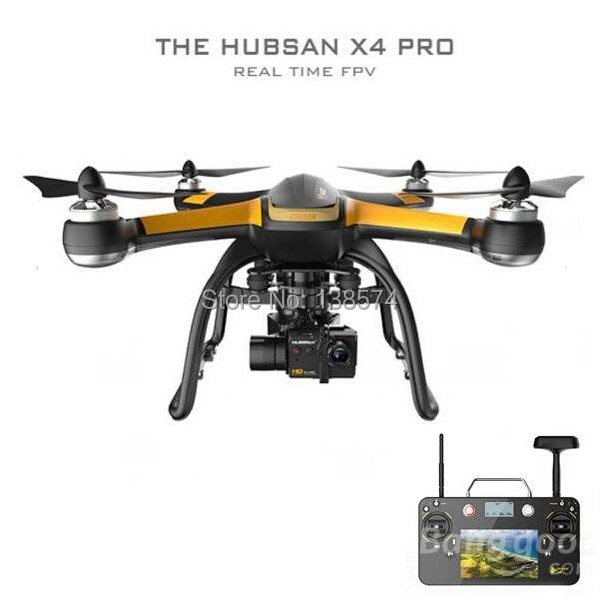 Hubsan X4 PRO H109S 5.8G Real Time FPV RC Quadcopter with GPS and Camera (High version)