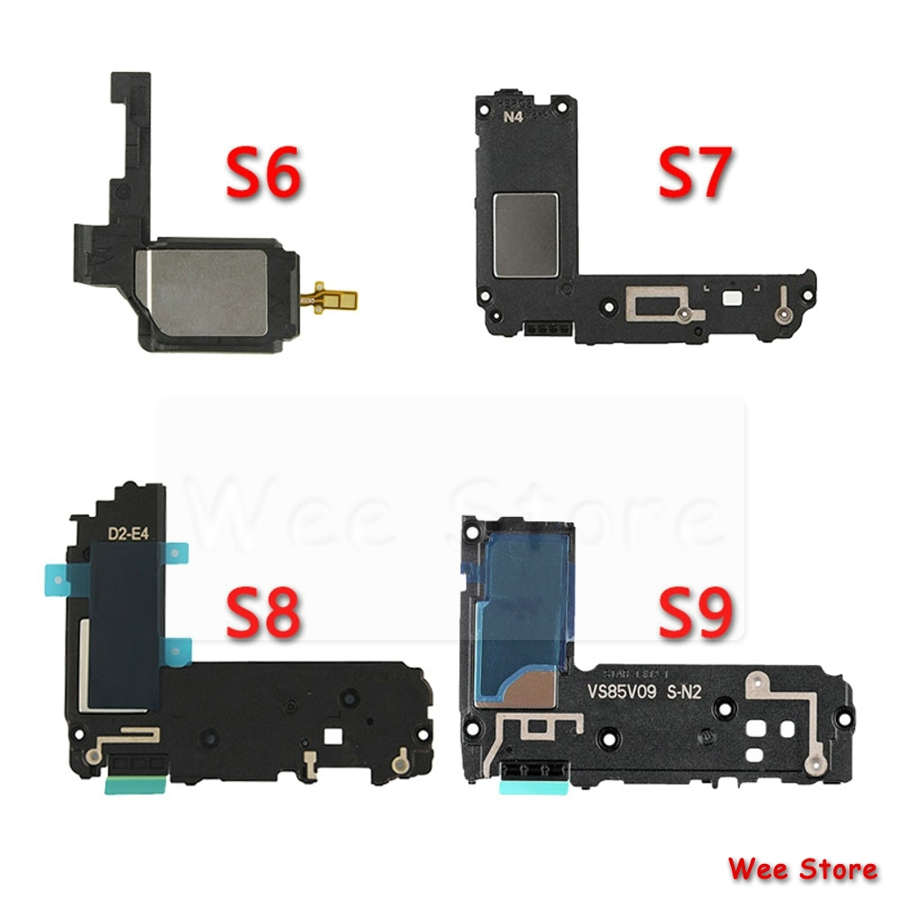 Original Big Loud Speaker Flex Cable For Samsung Galaxy S6 S7 Edge S8 S9 Plus Loudspeaker Ringer Phone Sound Speaker Flex Cable