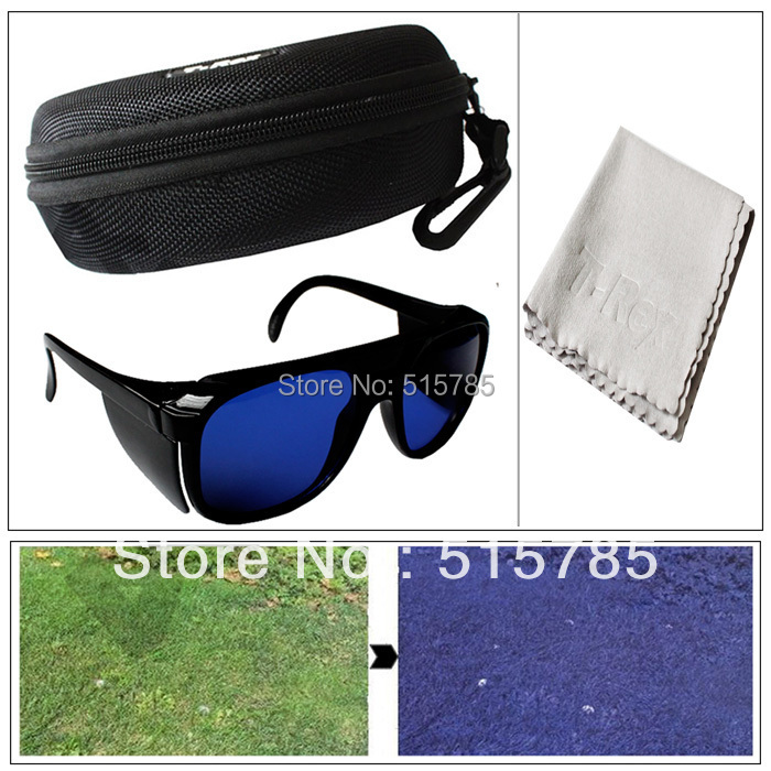 Golf Ball Finder Prefessional Lenses Glasses with Mould Case Eyeglass Cords Gl 3