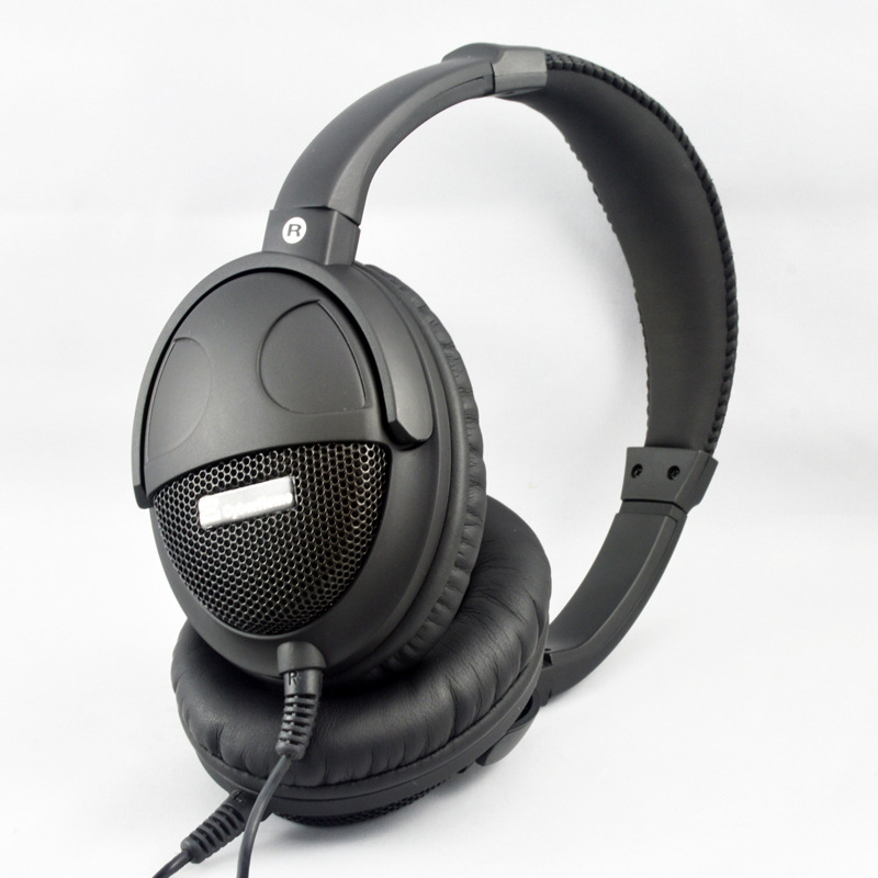 ФОТО Originals Kubite Large Headphone Hi-Fi Headset PC Large Headphones With Microphone For Computer Super Headphones