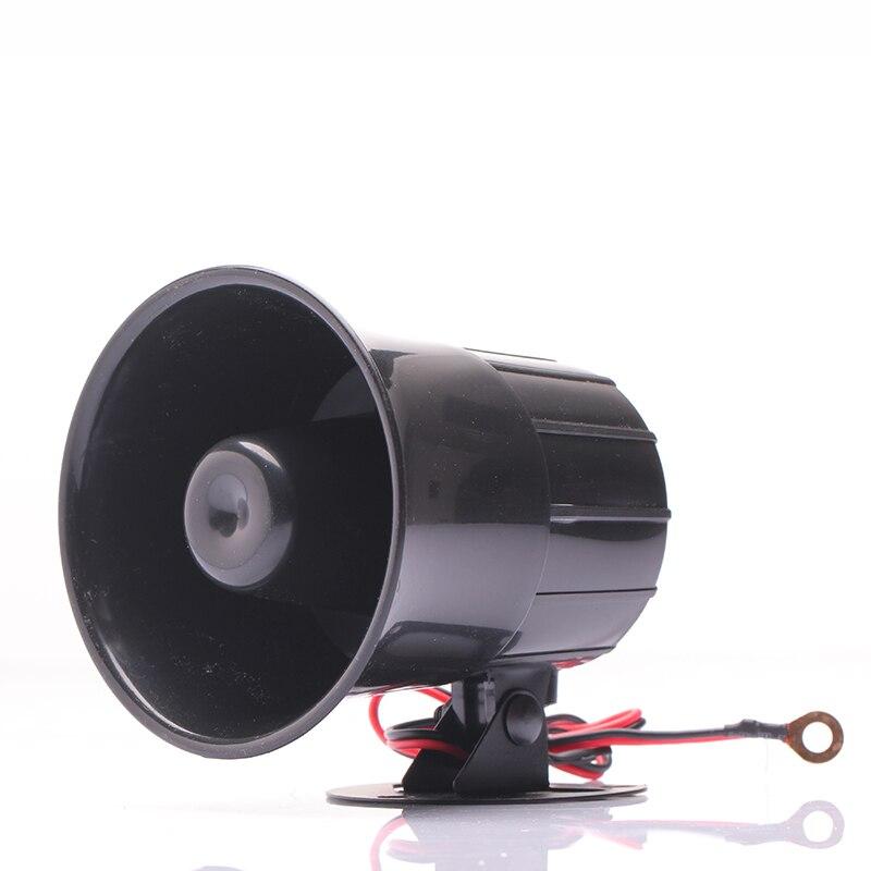 15w 115db luid security alarm siren horn luidspreker zwart rood dc 12v in de aanbieding kopen. Black Bedroom Furniture Sets. Home Design Ideas