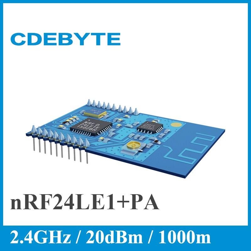 imágenes para CDEBYTE E05-MLE132AP2 2.4 GHz nRF24LE1 + PA + LNA Con 51 MCU 1 km Transceptor Inalámbrico Módulo de Comunicación Inalámbrica