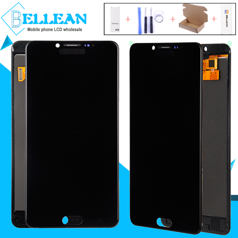 Catteny 1 Pcs C9000 LCD Touch Screen Digitizer Assembly Per Samsung Galaxy C9 Pro Lcd C9000 Display Digitale Dello Schermo di 5.7 polliciCatteny 1 Pcs C9000 LCD Touch Screen Digitizer Assembly Per Samsung Galaxy C9 Pro Lcd C9000 Display Digitale Dello Schermo di 5.7 pollici