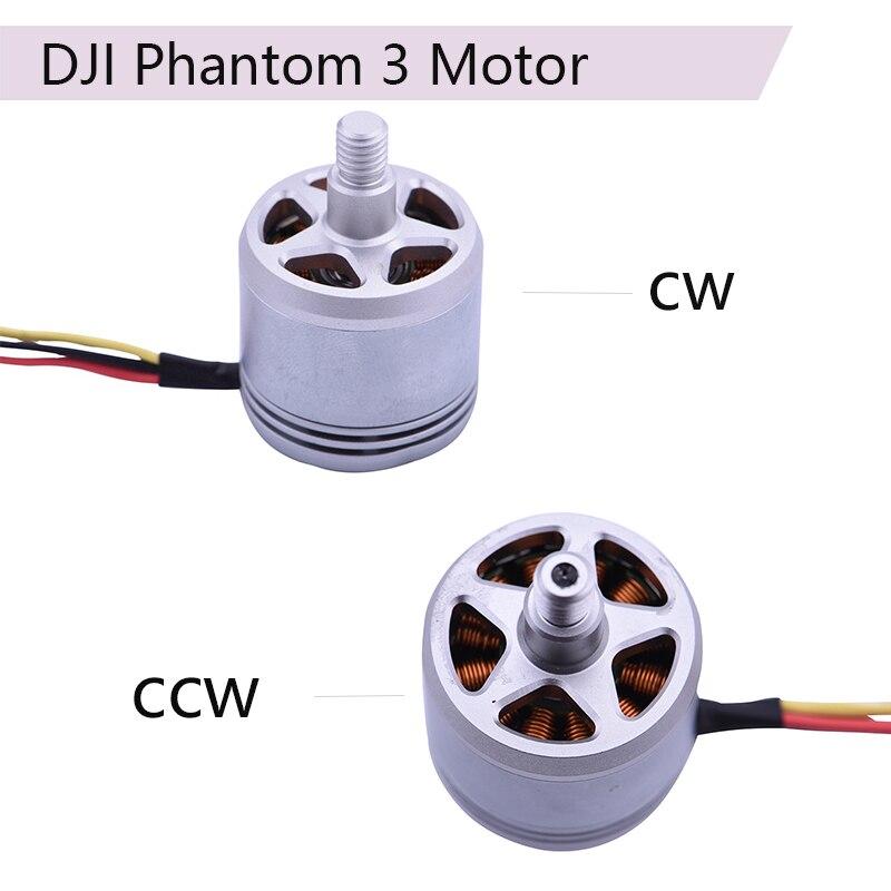 DJI Original 2312A Brushless Motor Repair Parts for DJI Phantom 3 Pro Advanced 3A 3P 3S SE Drone CW CCW Engine Accessories Kits