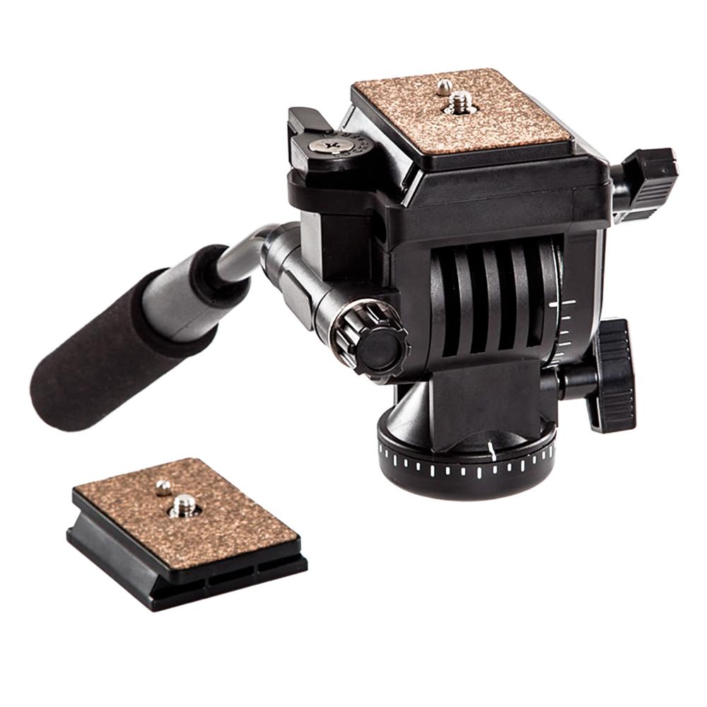 Prix pour YUNTENG YT-950 950 360 Degrés Hydraulique Pression Fluide Drag Trépied Tête Pour DSLR DV Vidéo Caméra Tournage Tournage Curseur Rail