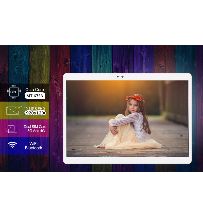 Free Shipping 10.1 Inch 3G/4G LTE Tablet PC Android 8.0 Octa Core RAM 4GB ROM 32GB 64GB Google Certification S119 IPS Tablets Pc