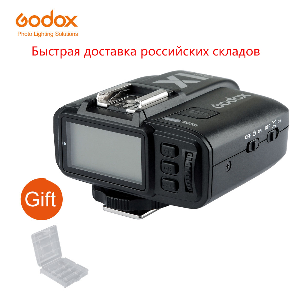Godox Trigger-Transmitter Camera Flash Nikon Fujifilm Olympus Sony Canon Wireless X1T-F title=