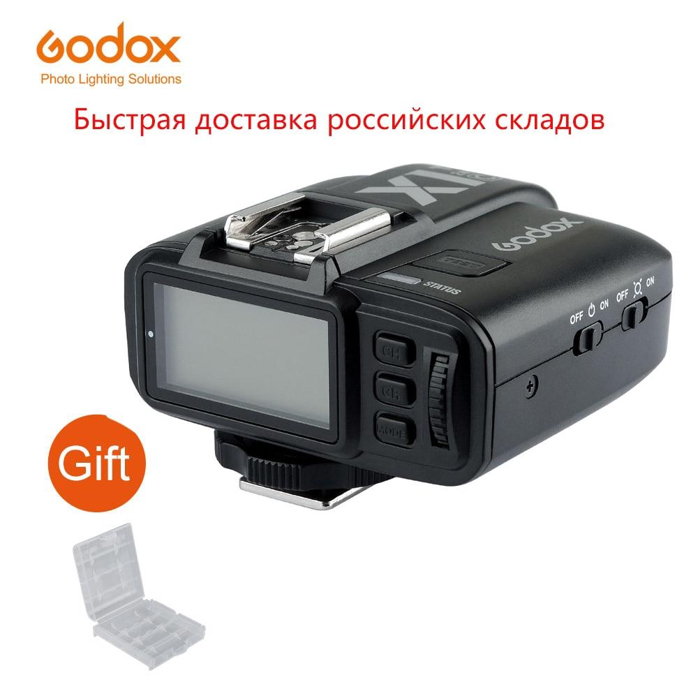 Беспроводной передатчик Godox для камеры Canon, Nikon, Sony, Fujifilm, Olympus, TTL, HSS, с тригггером и трансмиттером, с поддержкой камеры 2,4G, для камер Canon, Nikon, Sony, ...