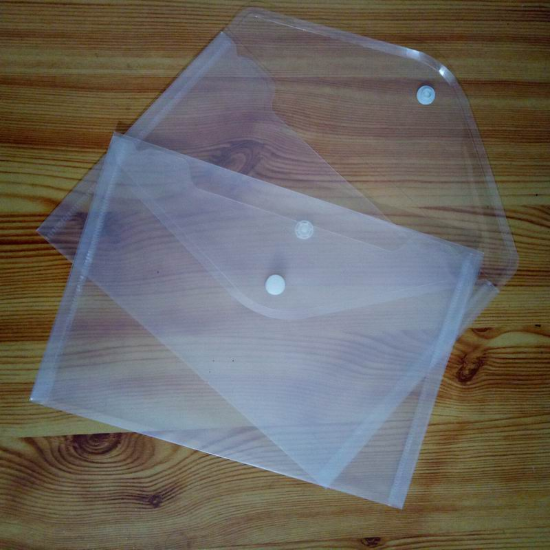 100 PCS Great Transparent Plastic A5 Folders File Bag Document Hold Bags Folders Filing Paper Storage