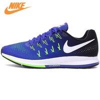 Authentische Neue Ankunft Offizielle Nike Air Zoom männer Atmungs Blau Laufschuhe Turnschuhe Trainer