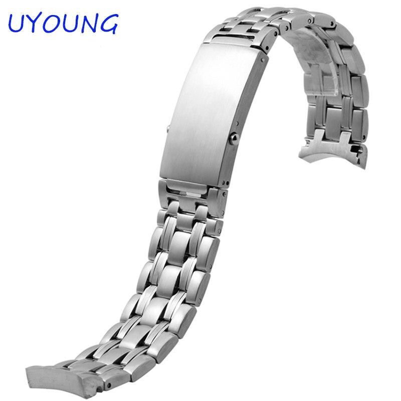 20mm hochwertiges Edelstahl-Uhrenarmband New Fashion Watch Zubehör Feine Stahlschnalle mit für Herrenarmband