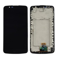 h New for LG K10 LCD Screen and Digitizer Full Assembly with Frame Replacement repair parts