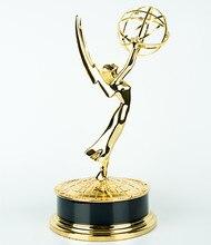 Premios Emmy Nacional de Aleación de Zinc, 28 cm Emmy Trofeo, Trofeo de Metal Emmy, réplica del premio Emmy,