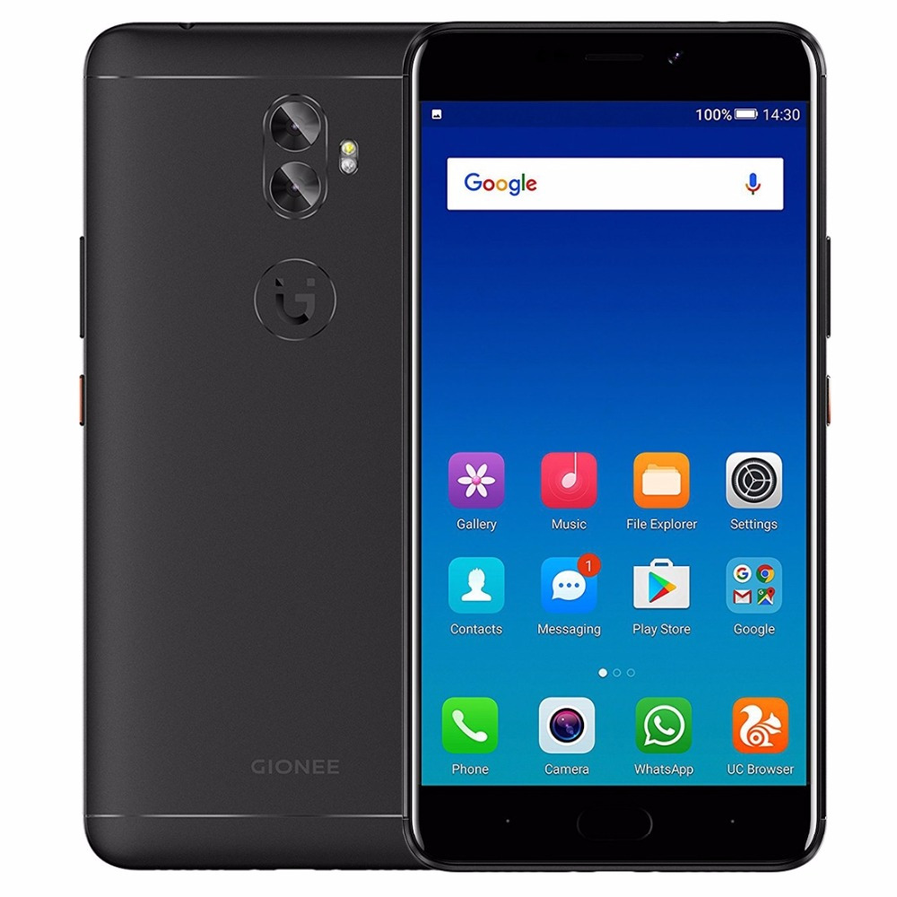 """Gionee A1 Plus 4G Smartphone 6.0"""" FHD 1920*1080P 4GB RAM+64GB ROM MTK6757CD Octa Core 20MP 3 Cameras Android 7.0 Mobile Phone"""