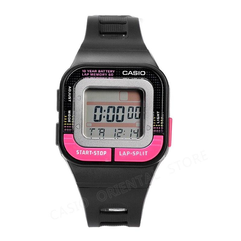 Casio Часы Модные спортивные часы Водонепроницаемый Наручные часы Для женщин цифровые часы многофункциональные смола Группа Relogio Feminino SDB-100