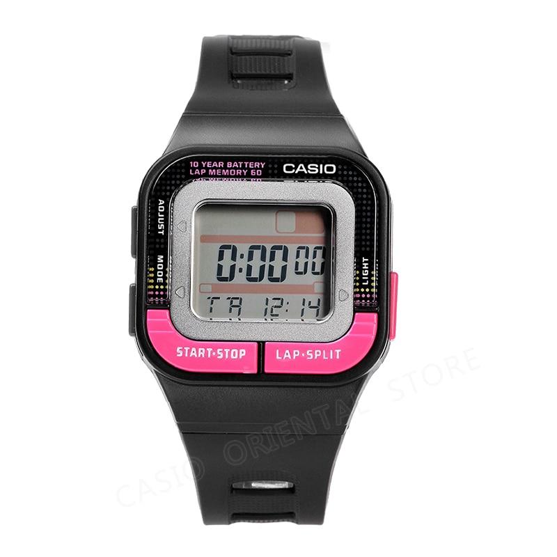 цена на Casio watch Fashion Sports Watches Waterproof Wristwatches Women Digital Watch Multifunction resin band Relogio Feminino SDB-100