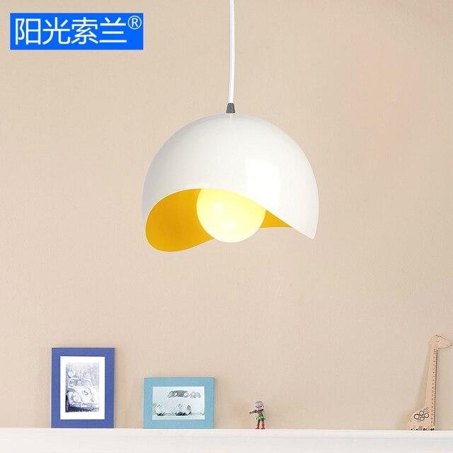 Moderne Einfache Beleuchtung Aluminium Weiß Und Gelb Kronleuchter Für  Esszimmer Stehtisch Studyroom Büro E27 Decke Kronleuchter